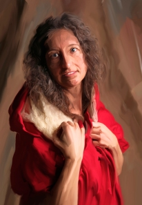 Lauri as Mary Magdalene by Catherine E. Case