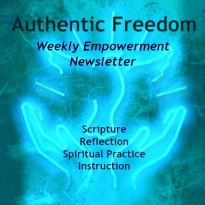 authenticfreedomempowermentnewslettericon